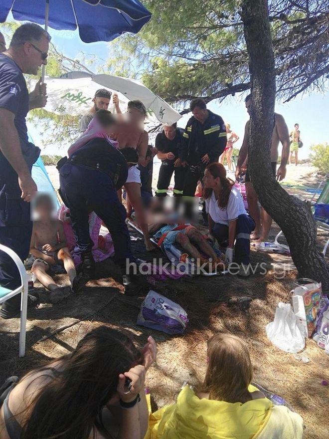 Έκρηξη σε κάμπινγκ της Χαλκιδικής: Στο νοσοκομείο 5μελής οικογένεια
