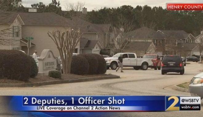 Πυροβολισμοί στην Τζόρτζια των ΗΠΑ - Νεκρός ένας αστυνομικός