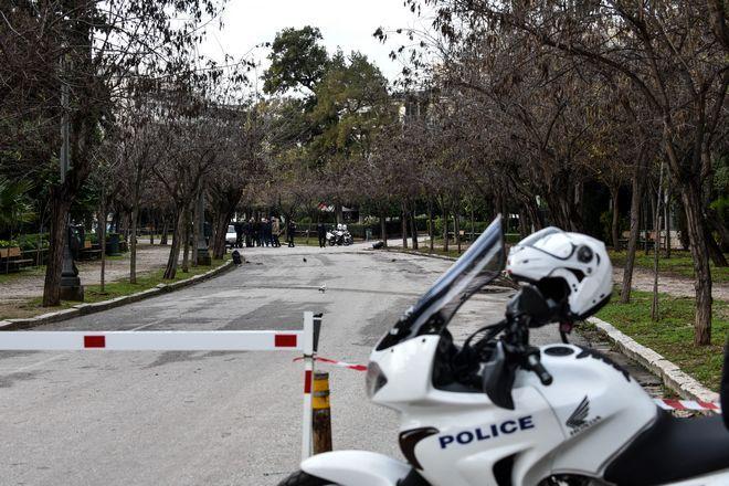 Αστυνομικοί στον Εθνικό Κήπο