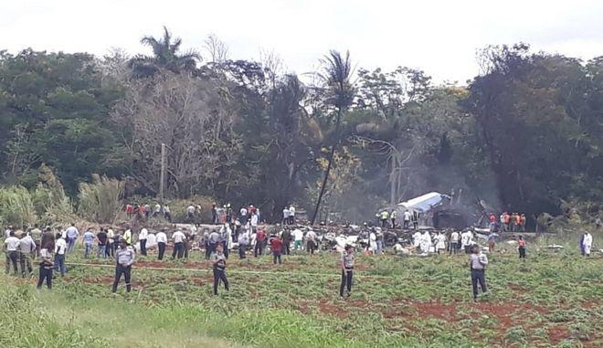 Αεροσκάφος Boeing συνετρίβη μετά την απογείωσή του από την Αβάνα