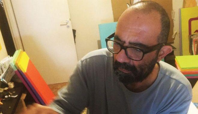 Ο δημοσιογράφος Νίκος Ζαχαριάδης.