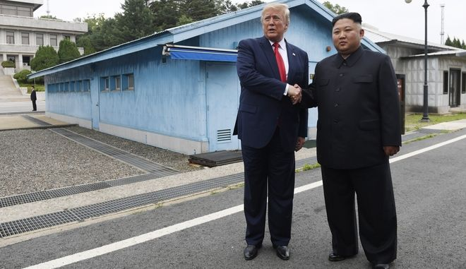 Συνάντηση Ντόναλντ Τραμπ με Κιμ Γιανγκ Ουν