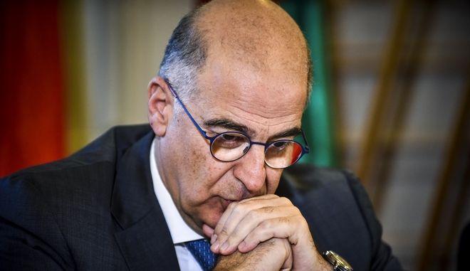 Ο κοινοβουλευτικός εκπρόσωπος της ΝΔ Νίκος Δένδιας