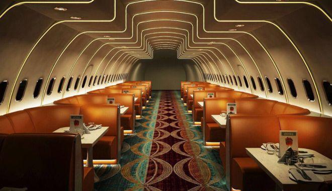 Ινδός επιχειρηματίας μετέτρεψε Airbus A320 σε πολυτελές εστιατόριο