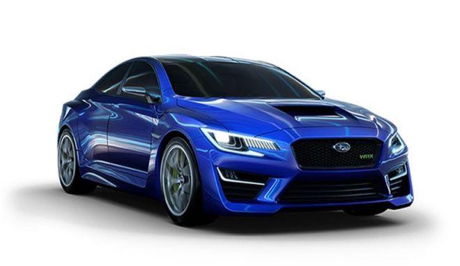 Subaru WRX Concept. Είναι ...ξεδιάντροπα επιθετικό