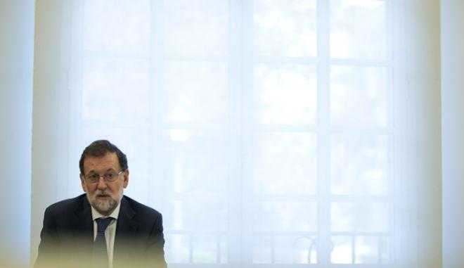 O πρώην πρωθυπουργός της Ισπανίας, Μαριάνο Ραχόι