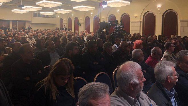 Εκδήλωση της Πρωτοβουλίας Πολιτών Ηρακλείου για την Ενότητα των Προοδευτικών Δυνάμεων με θέμα: «Η ανάγκη σύγκλισης των προοδευτικών δυνάμεων σε Ελλάδα και Ευρώπη.