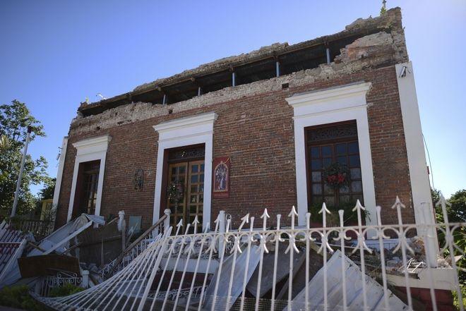 Υλικές ζημιές έπειτα από σεισμό στο Πουέρτο Ρίκο
