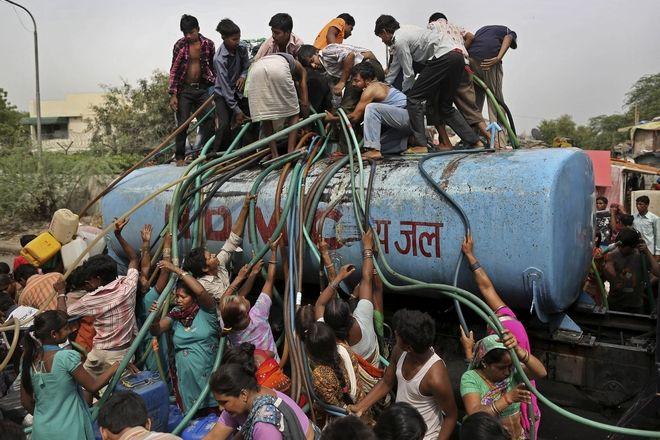 Λειψυδρία στο Νέο Δελχί