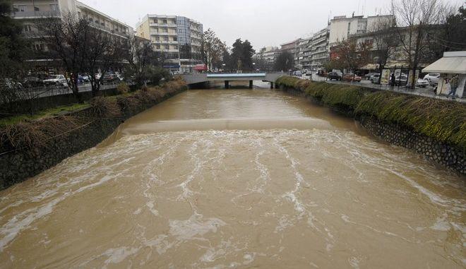 Ο Ληθαίος ποταμός στα Τρίκαλα