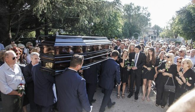 Κηδεύτηκε ο 'πεπεισμένος ρομαντικός' Κώστας Μουρσελάς