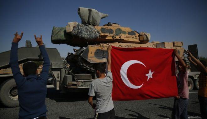 Αποφασισμένη η Τουρκία να δράσει και στη Συρία και στην Ανατολική Μεσόγειο