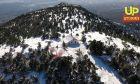 Πάρνηθα εν λευκώ: Το απόλυτο αλπικό τοπίο της Αττικής από ψηλά