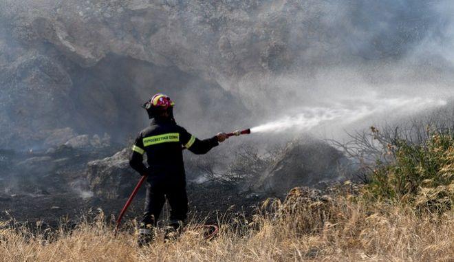 Πυρκαγιά στην Κερατέα την Τρίτη 9 Σεπτεμβρίου 2020