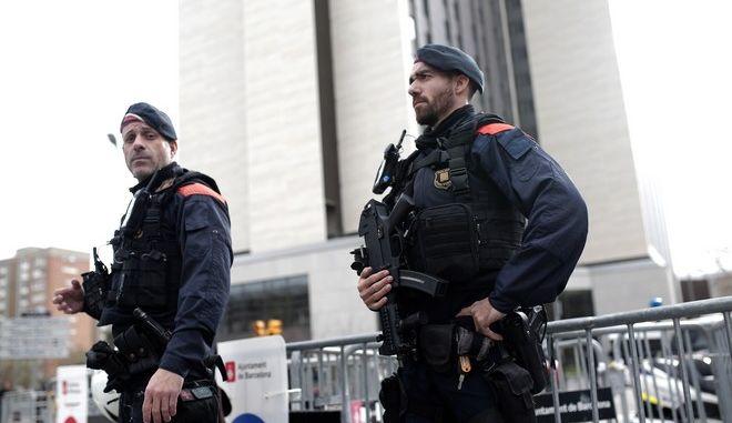 Αστυνομία στην Ισπανία
