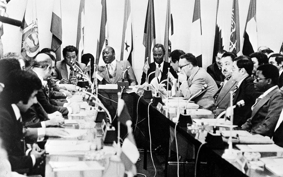Συνεδρίαση των υπουργών πετρελαίου του ΟΠΕΚ μια ημέρα πριν την επίθεση του Κάρλος (20/12/1975).