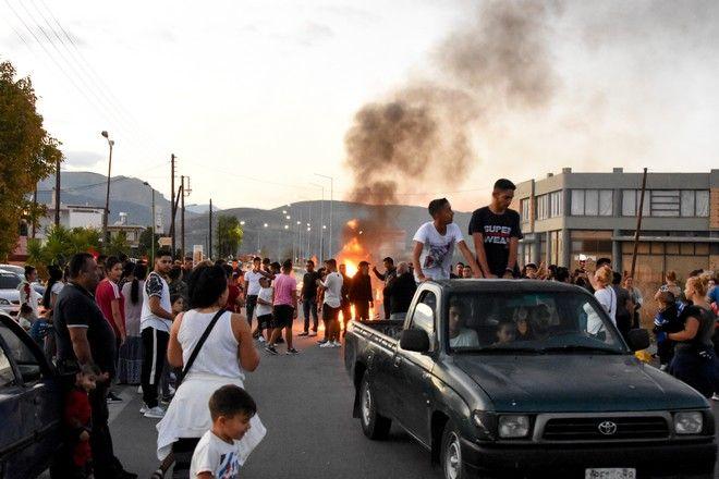 Συγκέντρωση ρομά στη Νέα Κίο Αργολίδας