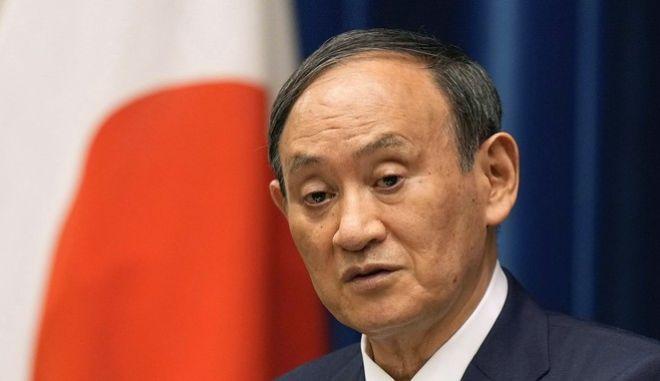 Ο πρωθυπουργός της Ιαπωνίας, Γιοσιχίντε Σούγκα.