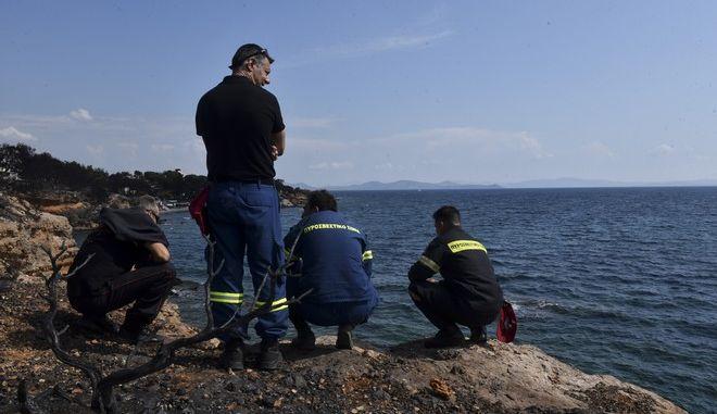 Το οικόπεδο στην περιοχή Μάτι όπου βρέθηκαν νεκροί 26 άνθρωποι. Κυριακή 29/7/2018. (Eurokinissi/ΜΠΟΛΑΡΗ ΤΑΤΙΑΝΑ )