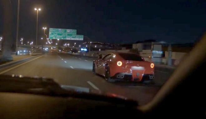 Άπειρος οδηγός στουκάρει καινούρια Ferrari 315.000 δολαρίων