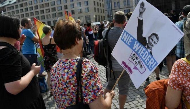 Η Δρέσδη θεωρείται εδώ και χρόνια προπύργιο της άκρας δεξιάς στη Γερμανία