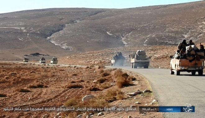 Νέα επιδρομή του Ισραήλ στην αεροπορική βάση T-4 στη Χομς, Συρία