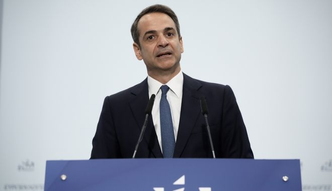 Προέδρος της Νέας Δημοκρατίας Κ. Μητσοτάκης