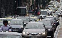 Αυξημένη κίνηση στην Αθήνα λόγω της απεργίας στο μετρό