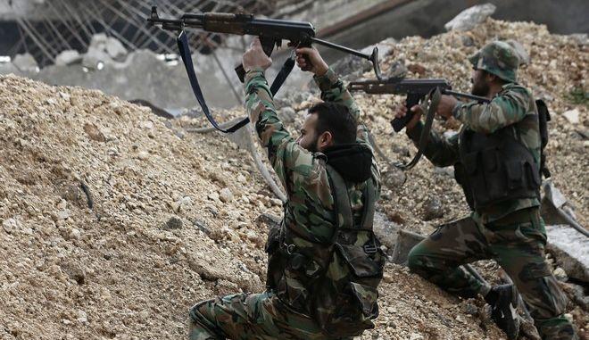 Συροι στρατιώτες