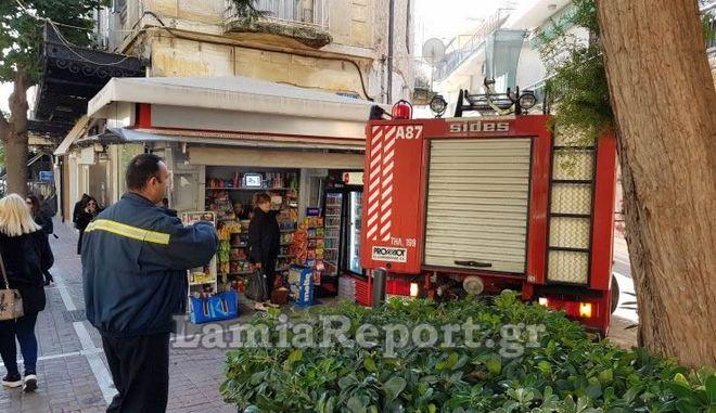 Συναγερμός για καπνούς στο κέντρο της Λαμίας