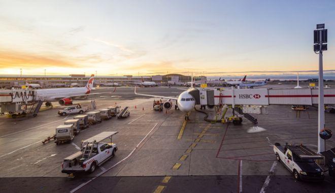 """Το Διεθνές Αεροδρόμιο """"Pearson"""" στο Τορόντο."""