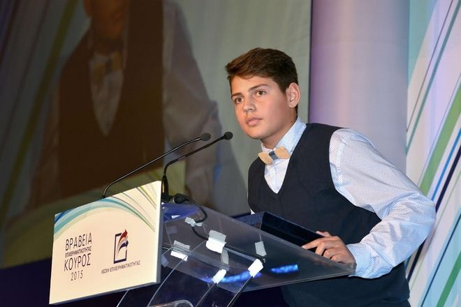 Ο 15χρόνος από την Καβάλα στον οποίο 'υποκλίθηκαν' Sr Stelios και ελληνική επιχειρηματική κοινότητα
