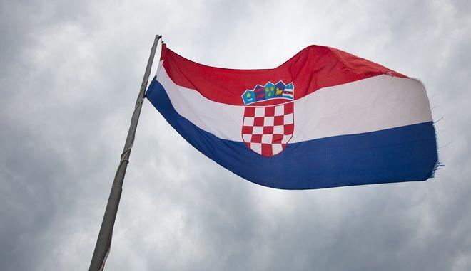 Η σημαία της Κροατίας