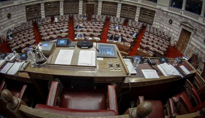 Πλάνο από την Βουλή των Ελλήνων