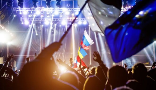 Στιγμιότυπο από διαγωνισμό της Eurovision