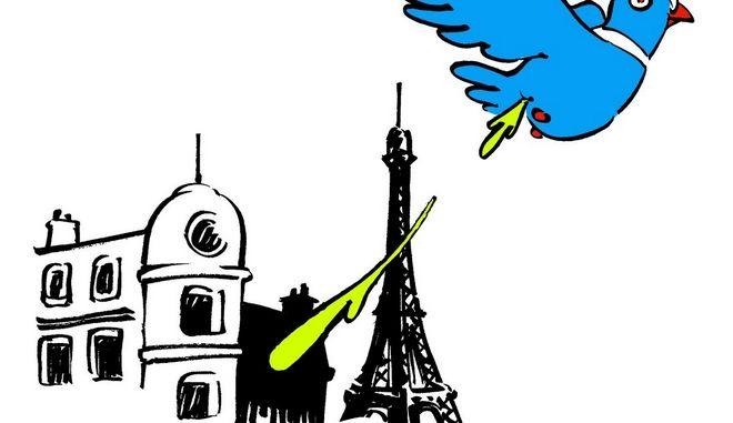 Το σκίτσο με το οποίο το Charlie Hebdo επέστρεψε στο twitter