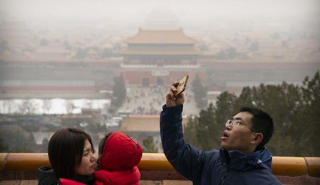 Ατμοσφαιρική ρύπανση στην Κίνα (ΦΩΤΟ Αρχείου)
