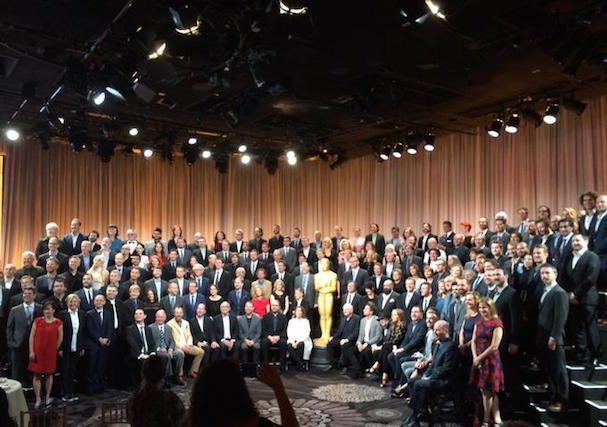 Oscar Nominees Lunch: οι υποψήφιοι φωτογραφίζονται