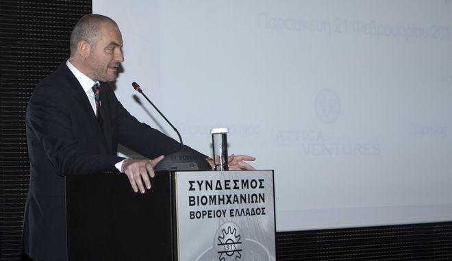 Ο πρόεδρος του ΣΒΒΕ Αθανάσιος Σαββάκης