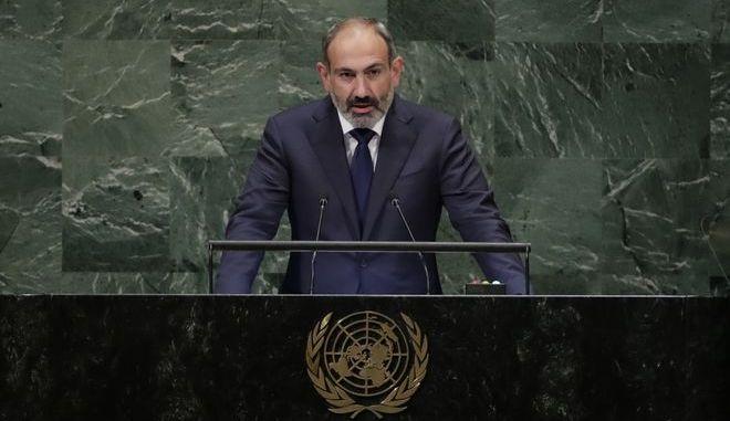 Ο πρωθυπουργός της Αρμενίας Νικόλ Πασινιάν