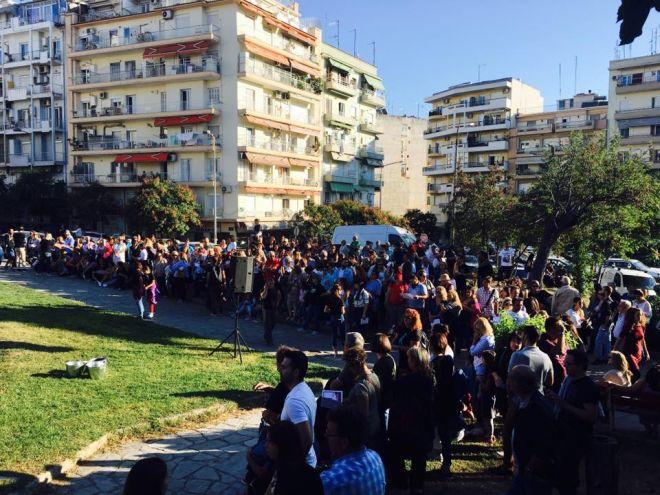 Θεσσαλονίκη: Πλήθος κόσμου στις εκδηλώσεις για τα 100 χρόνια από τη Μεγάλη Πυρκαγιά