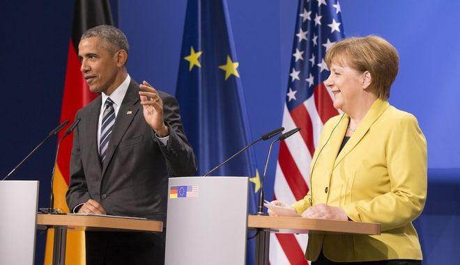 Έφτασε στη Γερμανία ο Μπαράκ Ομπάμα
