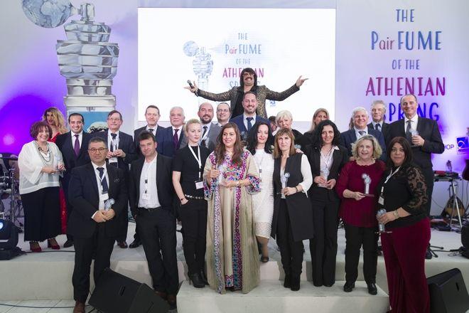 Με 'άρωμα Αθήνας' τα βραβεία του αεροδρομίου Αθηνών προς τις αεροπορικές εταιρείες