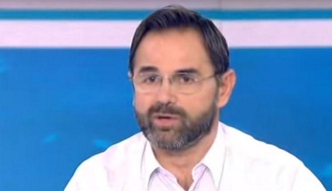 O Αντιπρόεδρος της ΠΟΑΣΥ, Σταύρος Μπαλάσκας.