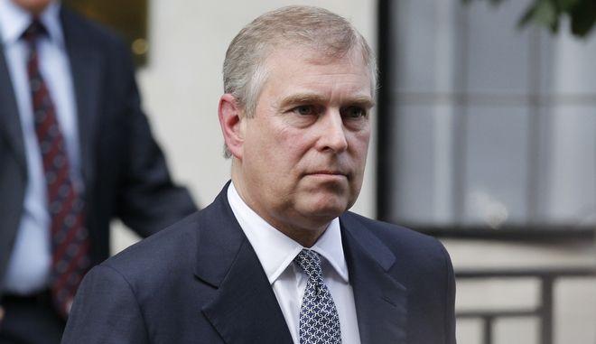 O πρίγκιπας Άντριου στο Λονδίνο τον Ιούνιο του 2012