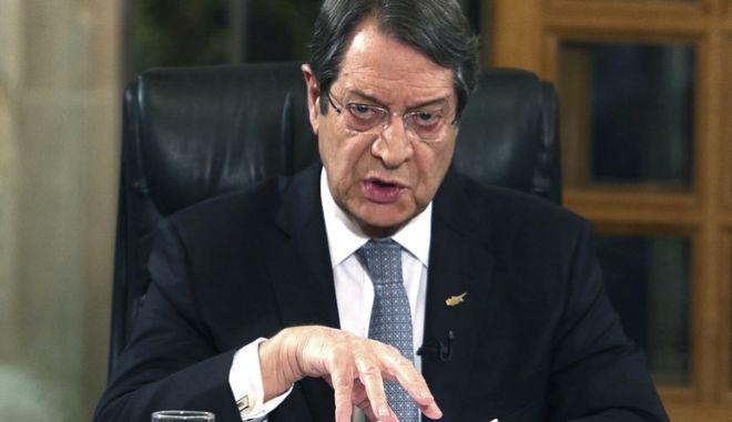 Αναστασιάδης: Ημέρα προδοσίας από τη χούντα των Αθηνών η 15η Ιουλίου