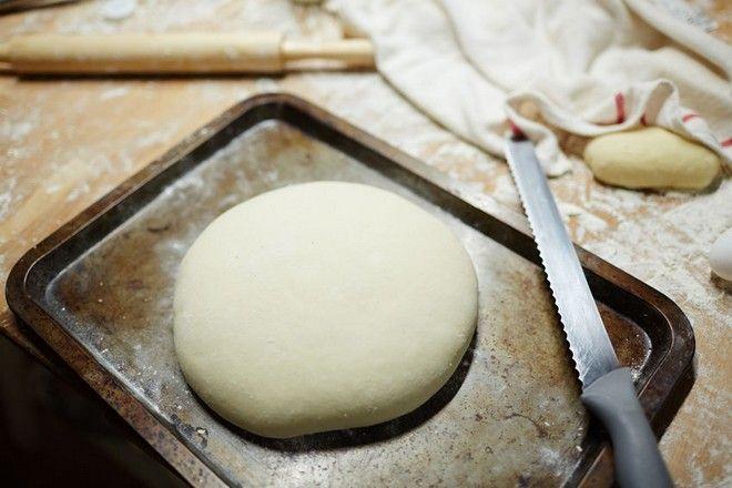 Ψωμί σε δίσκο φούρνου