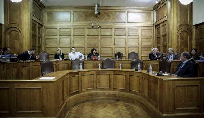 Συνεδριάση της Επιτροπής Παραγωγής και Εμπορίου της Βουλής για την παραχώρηση του δικαιώματος έρευνας και εκμετάλλευσης υδρογονανθράκων σε περιοχές της Ελλάδας την Δευτέρα 26 Φεβρουαρίου 2018. (EUROKINISSI/ΣΤΕΛΙΟΣ ΜΙΣΙΝΑΣ)