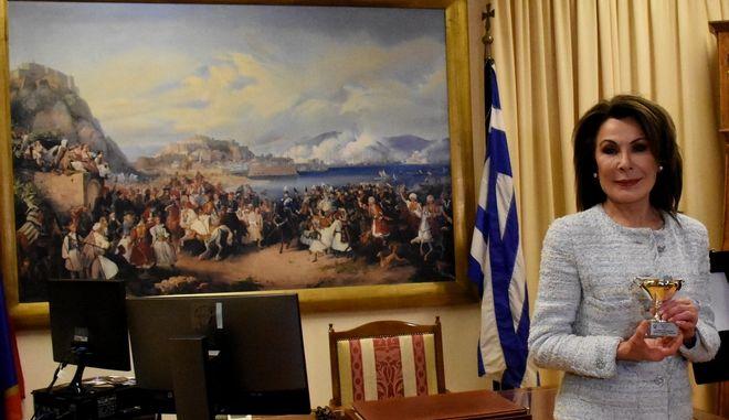 Η Γιάννα Αγγελοπούλου .