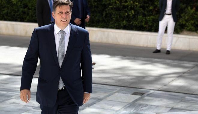 Ο αναπληρωτής υπουργός Εξωτερικών, Μιλτιάδης Βαρβιτσιώτης